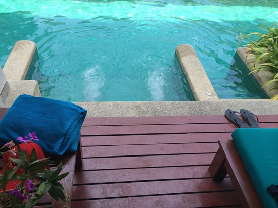 Banthai Beach Resort & Spa: Pool entrance from the room