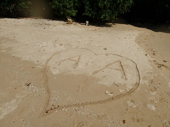 Amari Vogue Krabi: Our own beach nearby the resort