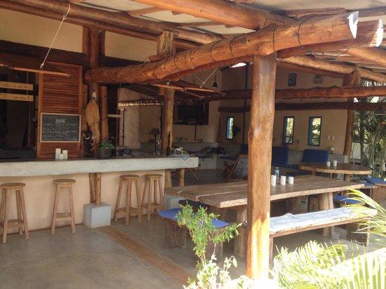 Casa Lajagua: kicthen/lounge areas
