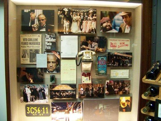 Francis Ford Coppola Winery: movie memorabilia