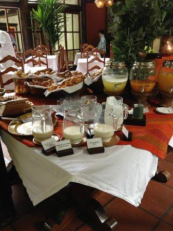 Inkaterra Machu Picchu Pueblo Hotel: Inkaterra Machu Picchu Included Breakfast Buffet