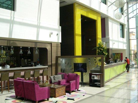Traders Hotel, Qaryat Al Beri, Abu Dhabi: Reception
