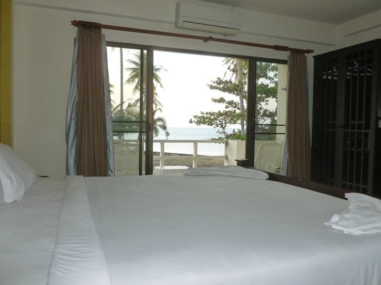 Aloha Lanta Resort: Balcon