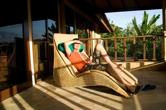 Rumah Bali : Балкон