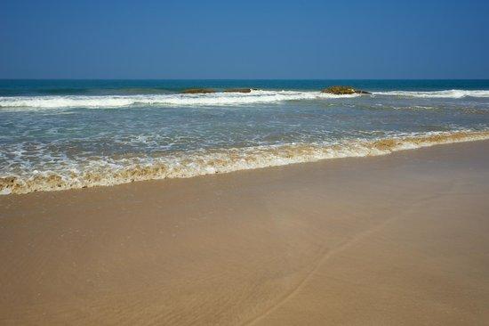 Saman Villas : Einsamer Strand