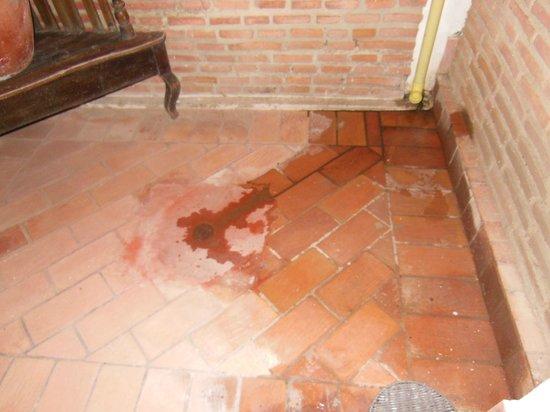 Hotel Boutique el Zaguan : Patio cerrado dentro de la habitación adonde desagotaban varios aires acondicionados