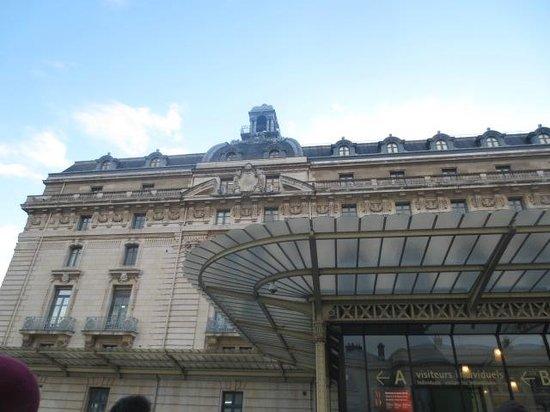 Musée d'Orsay: Entrance