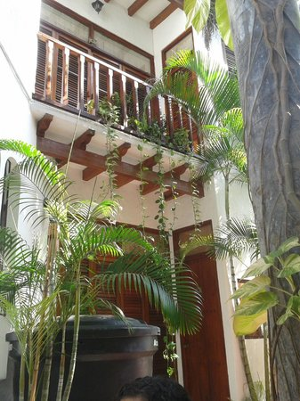Hotel Boutique el Zaguan : Patio del hotel