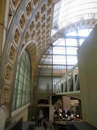 Musée d'Orsay: Fine architecture everywhere