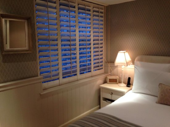 Dean Street Townhouse : Quiet room