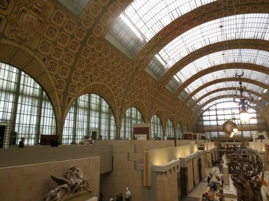 Musée d'Orsay: Lots of light