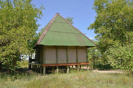 Tent at Tarangire River Camp (backside)