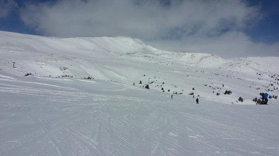 Loveland Ski Area, top of chair #2