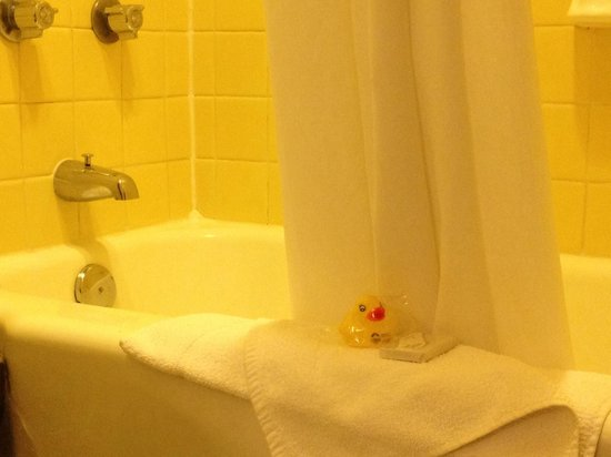 O'Haire Motor Inn: Spotless bathroom.