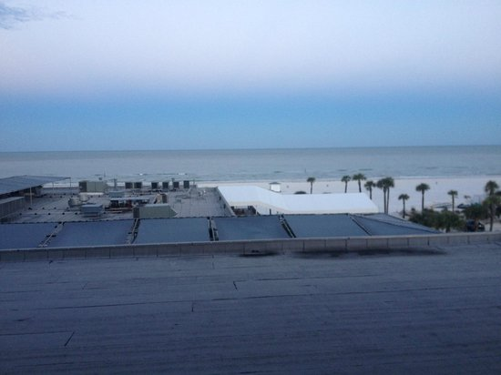 Hilton Clearwater Beach: Coastal View