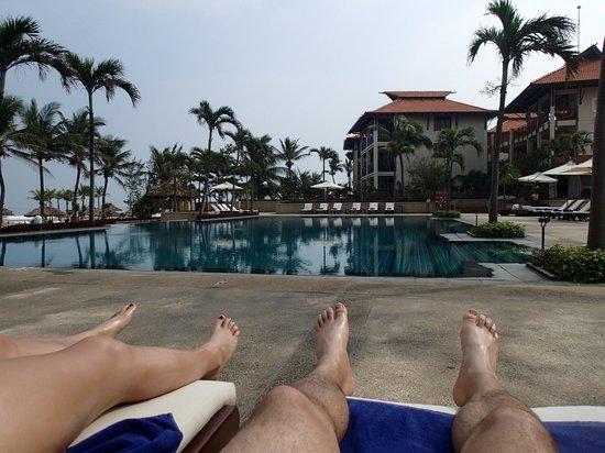 Furama Resort Danang: One of the pools