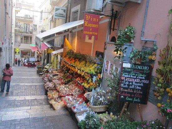 Eurostars Monte Tauro: Walking the village streets
