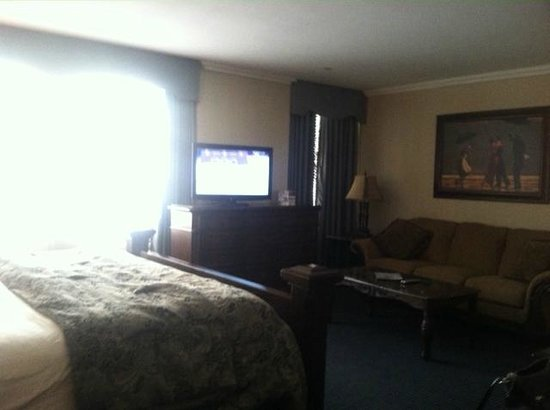 Resorts Casino Hotel: Comfy Sofa!