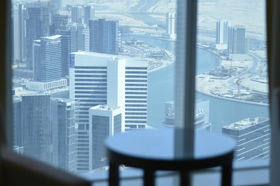 JW Marriott Marquis Hotel Dubai: View from the room