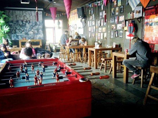 Sanlitun Huatong International Youth Hostel: 佈置
