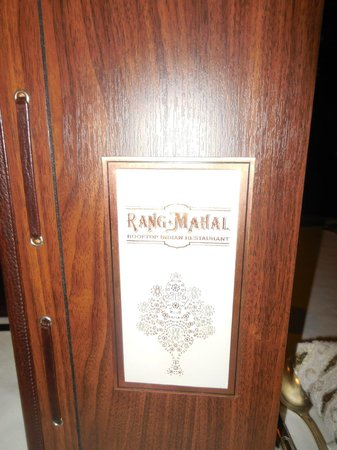Rang Mahal Restaurant: Their Menu