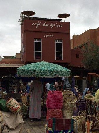 Cafe Des Epices: foto da place des epices