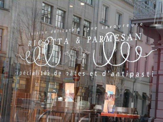 Ricotta & Parmesan: Ricotta et Parmesan