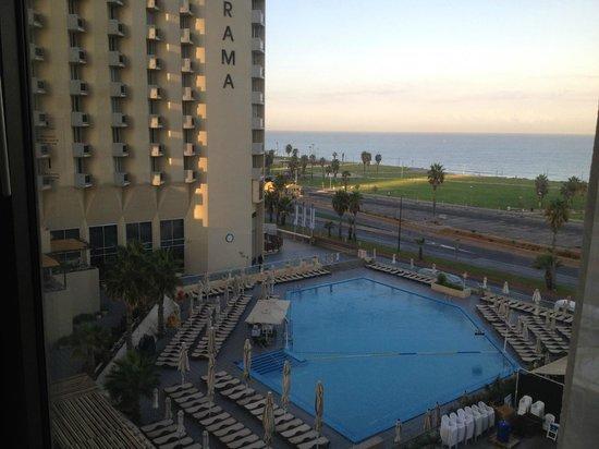 InterContinental David Tel Aviv : Вид из номера 8 этажа