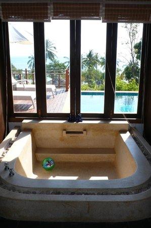 Elixir Resort: Salle de bain (chambre supérieure)