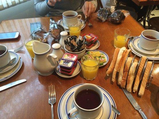 Jesmond Dene Hotel: Colazione