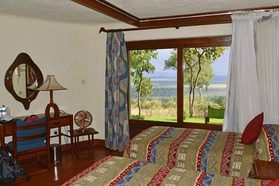 Lake Manyara Serena Lodge : A room with a view