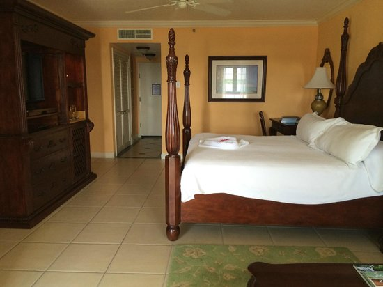 Sandals South Coast : Full shot of the Beachfront Penthouse Club level suite in the Dutch Village