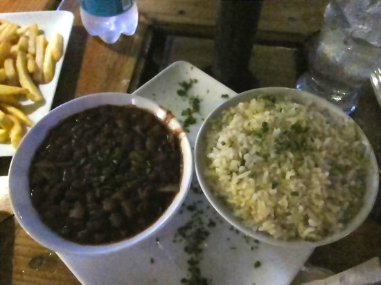 El Boske: Rice and Beans