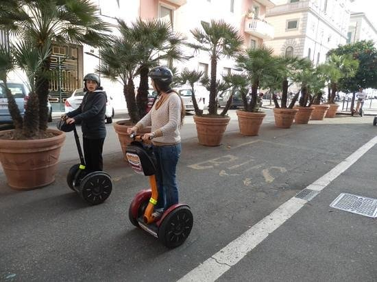 Rome by Segway: training