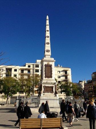 La Plaza : Uitzicht op Plaza de la Merced