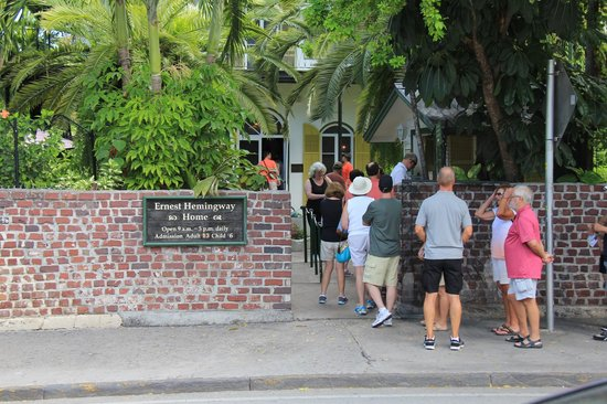 Southernmost Beach Resort : The Hemingway house
