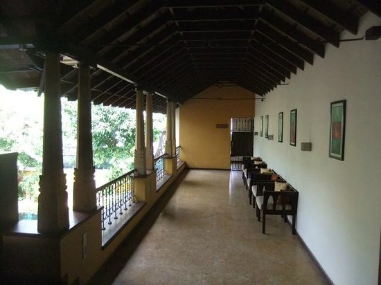 Tea Bungalow: communal area