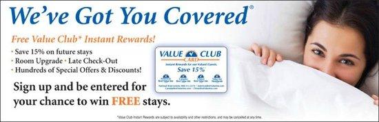 Americas Best Value Inn - Rockingham: 15% Discount Card