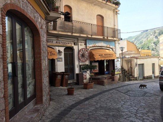 La Taverna dell' Etna : Ingresso