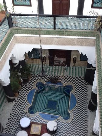 Riad El Mansour: view from the terrace