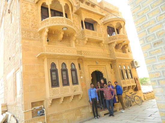 Hotel Nirmal Haveli: outside the haveli