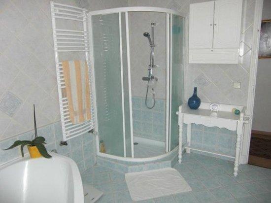 Les Pervenches : douche
