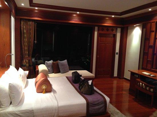 Marina Phuket Resort : Blick Richtung Terrasse