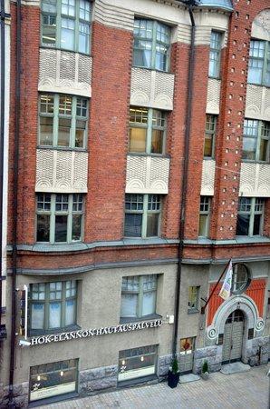 Solo Sokos Hotel Torni: вид из окна