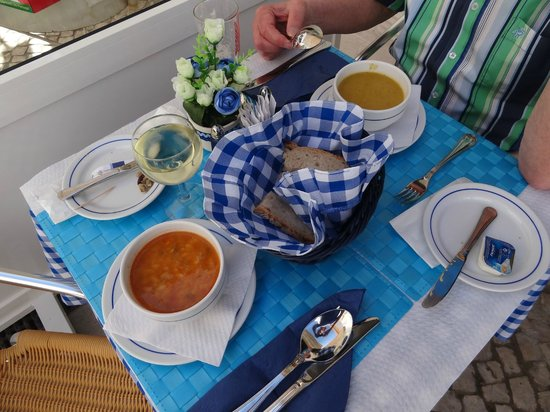 O Alentejano : A good start: fish soup