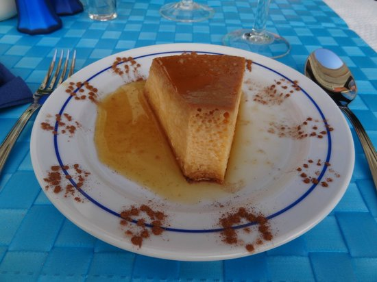 O Alentejano : pudim flan of course