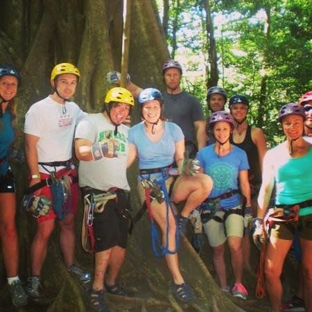 Adventours Costa Rica: Zip Lining, Water Slide, Mud Bath, Hot Springs, Horseback Riding, and FOOD!