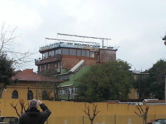 Seven Hills Hotel: 7hills aus Richtung Ayasofia