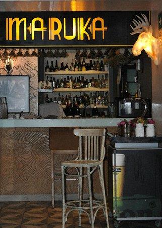 Maria Condesa Boutique Hotel: Adjacent Maruka bar