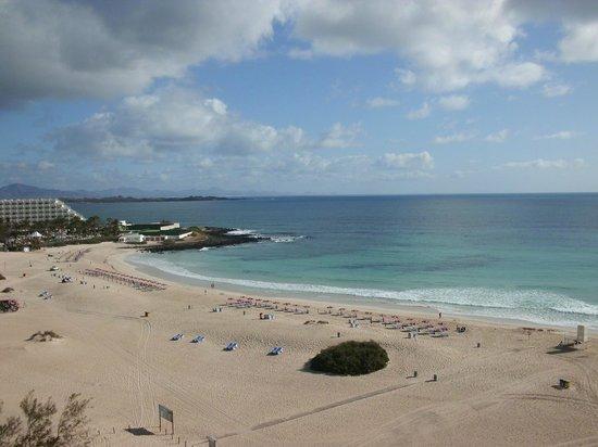 ClubHotel Riu Oliva Beach Resort : Vista Spiaggia dal 6° piano